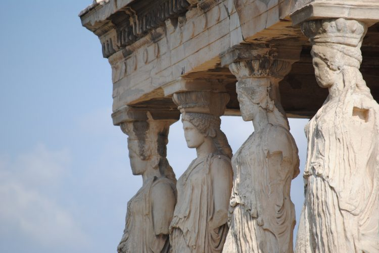 Erechtheion Greek temple at the Acropolis
