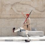 Changing of the Guards at Parliament in Athens, Greece
