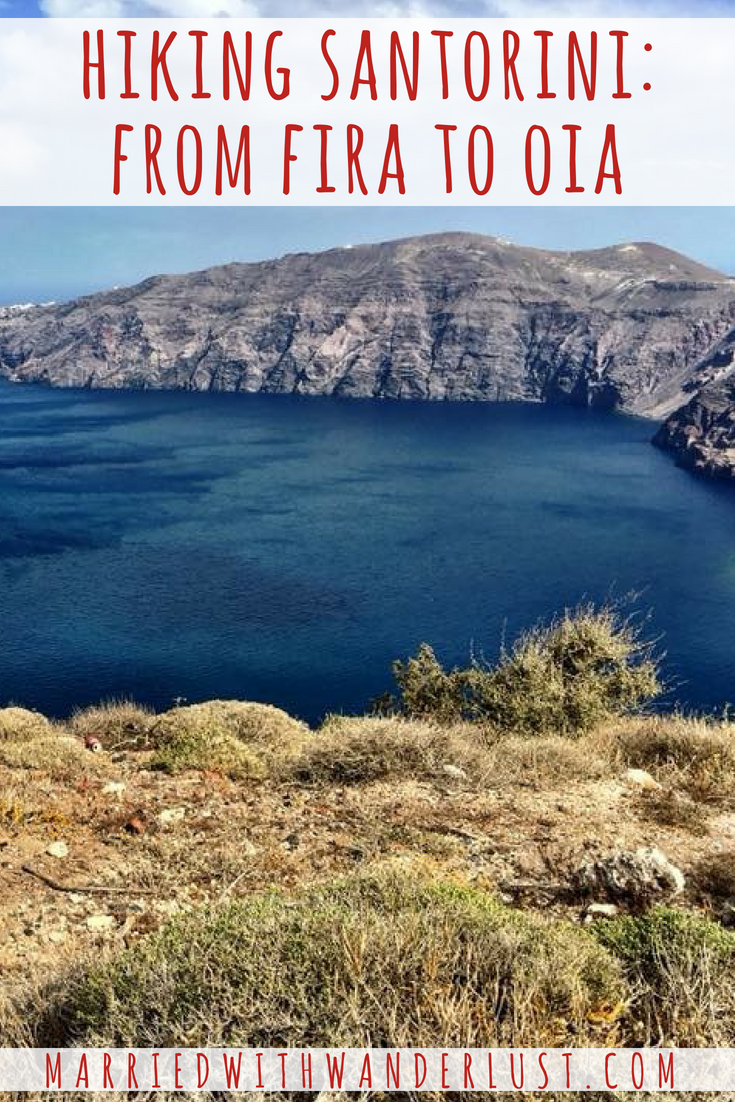 Hiking Santorini- From Fira to Oia