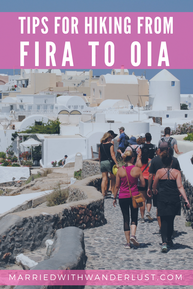 Tips for Hiking from Fira to Oia