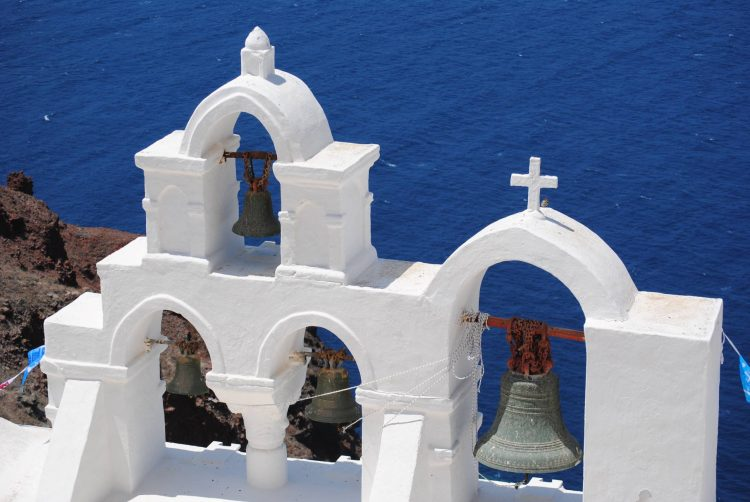 Oia, Santorini Church Tower