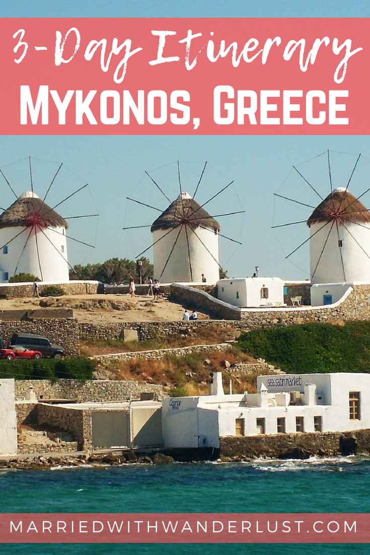 3-Day Itinerary for Mykonos, Greece