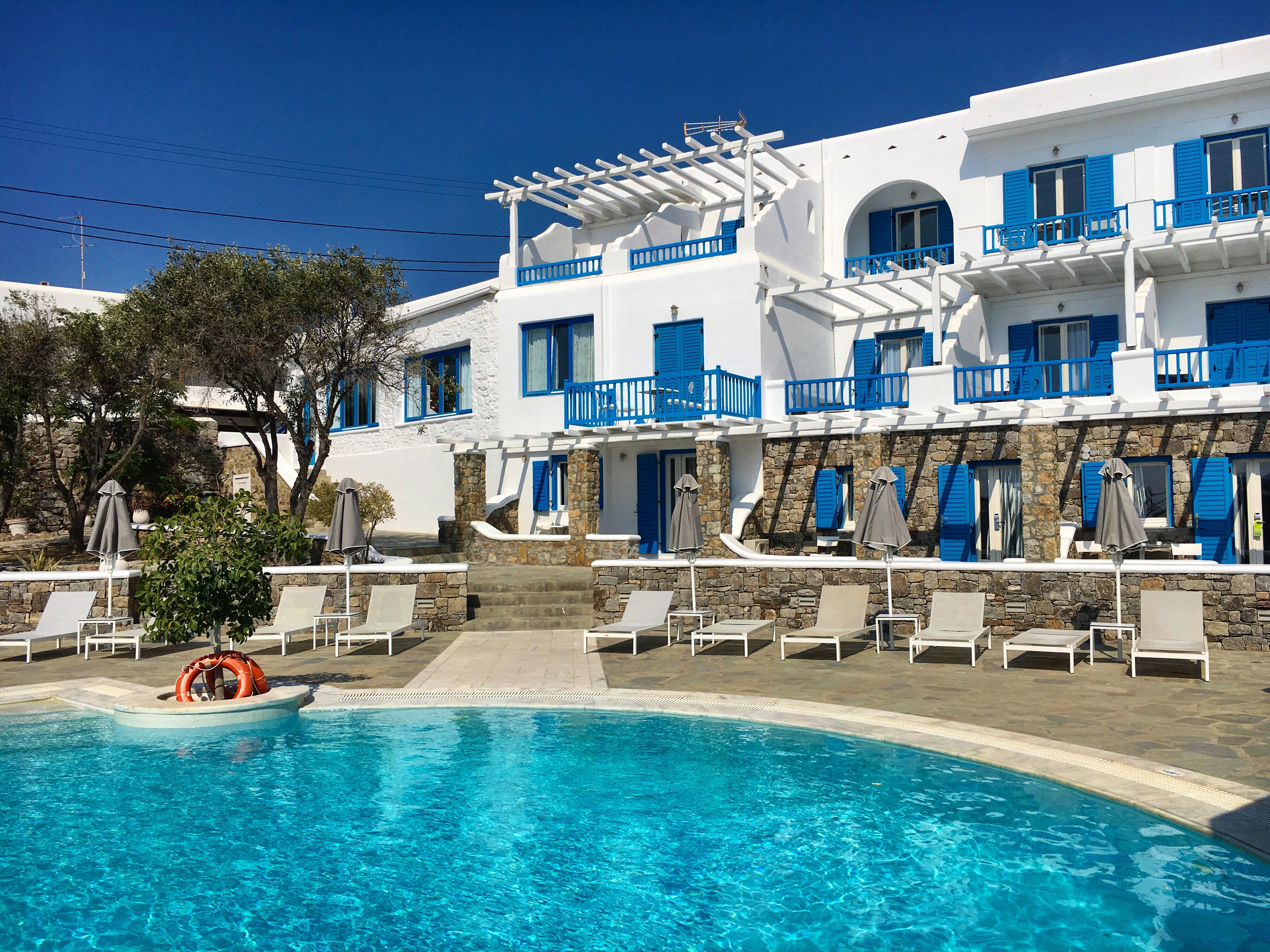 Argo Hotel in Mykonos, Greece