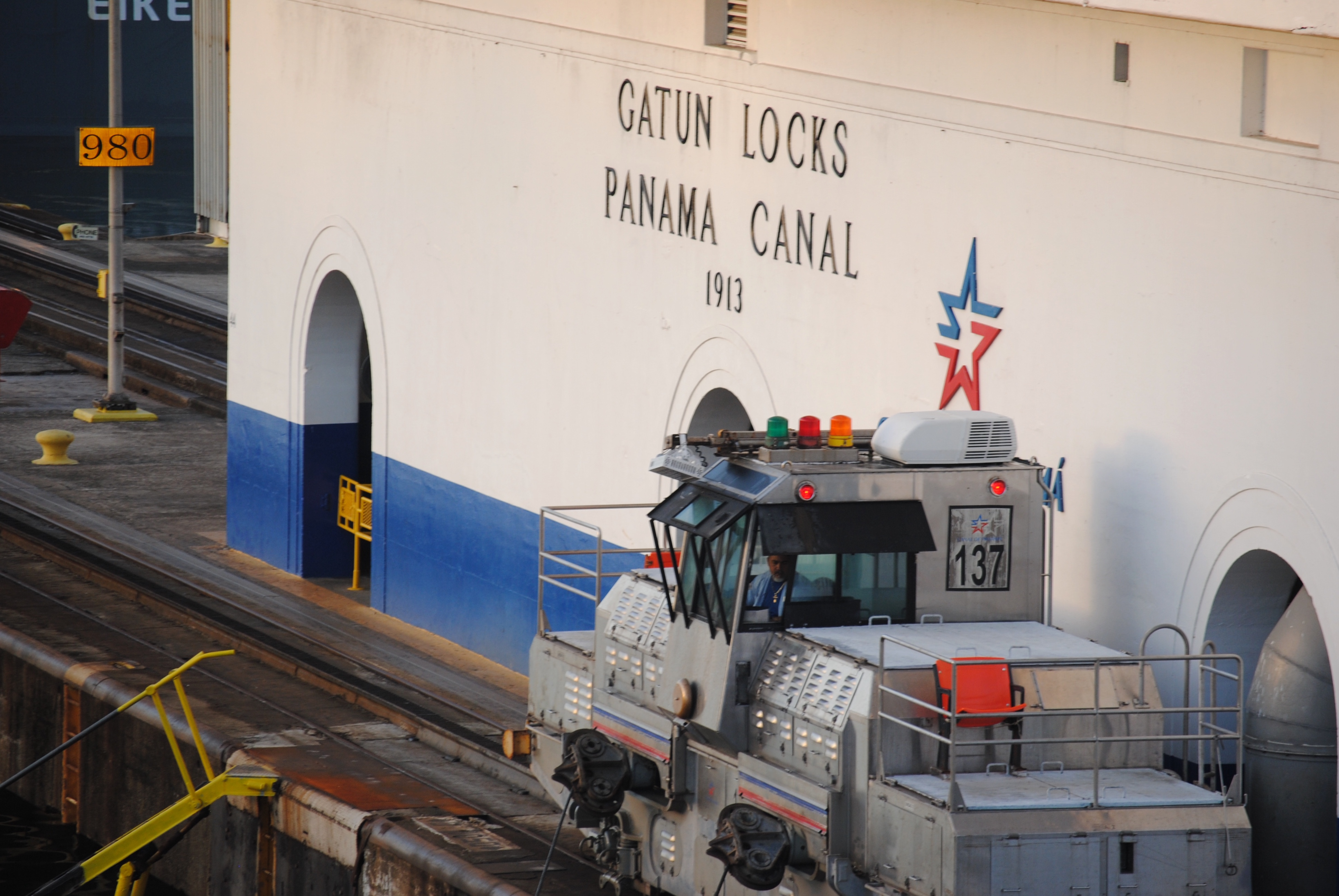 Gatun Locks of the Panama Canal