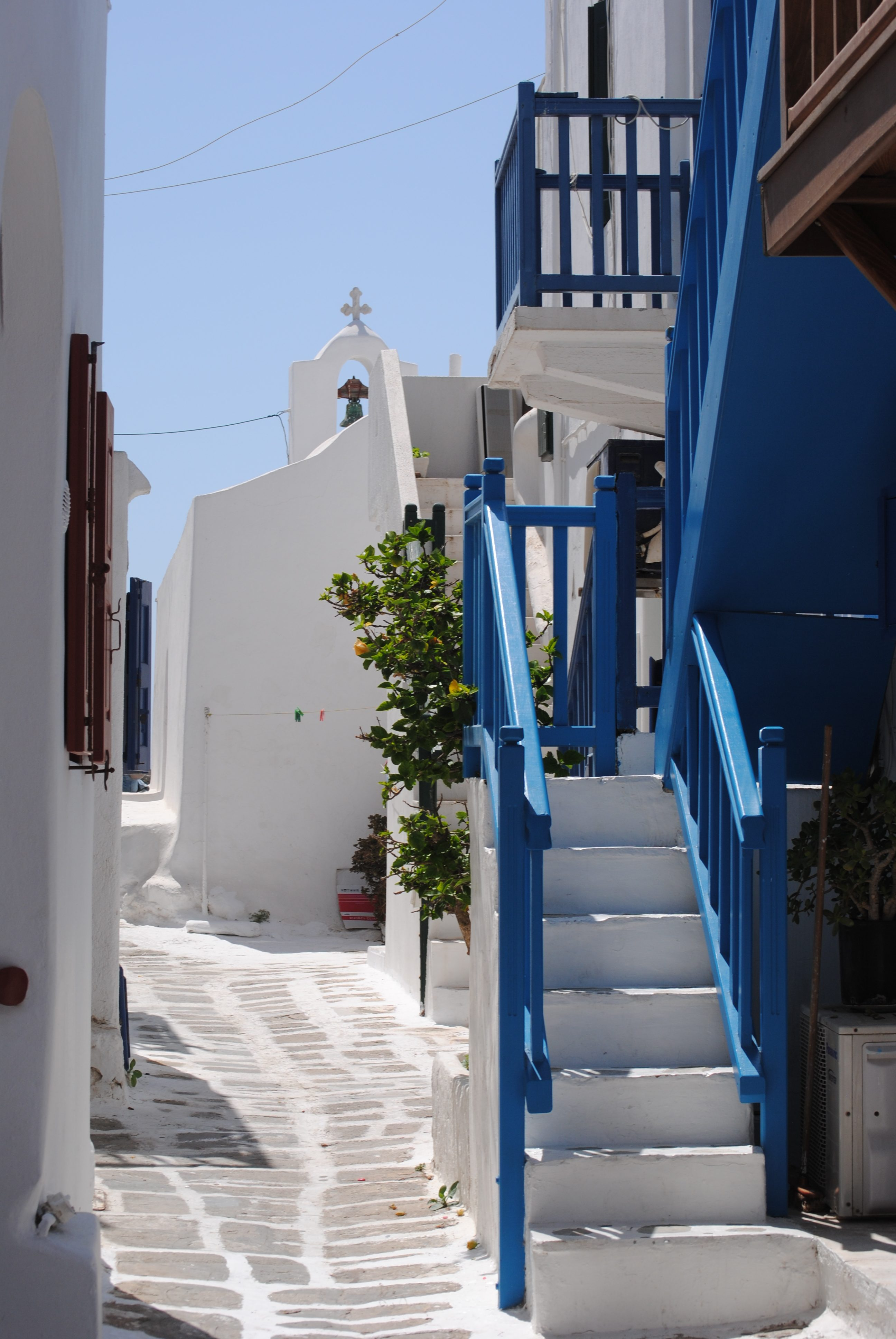 Explore Little Venice in Mykonos, Greece