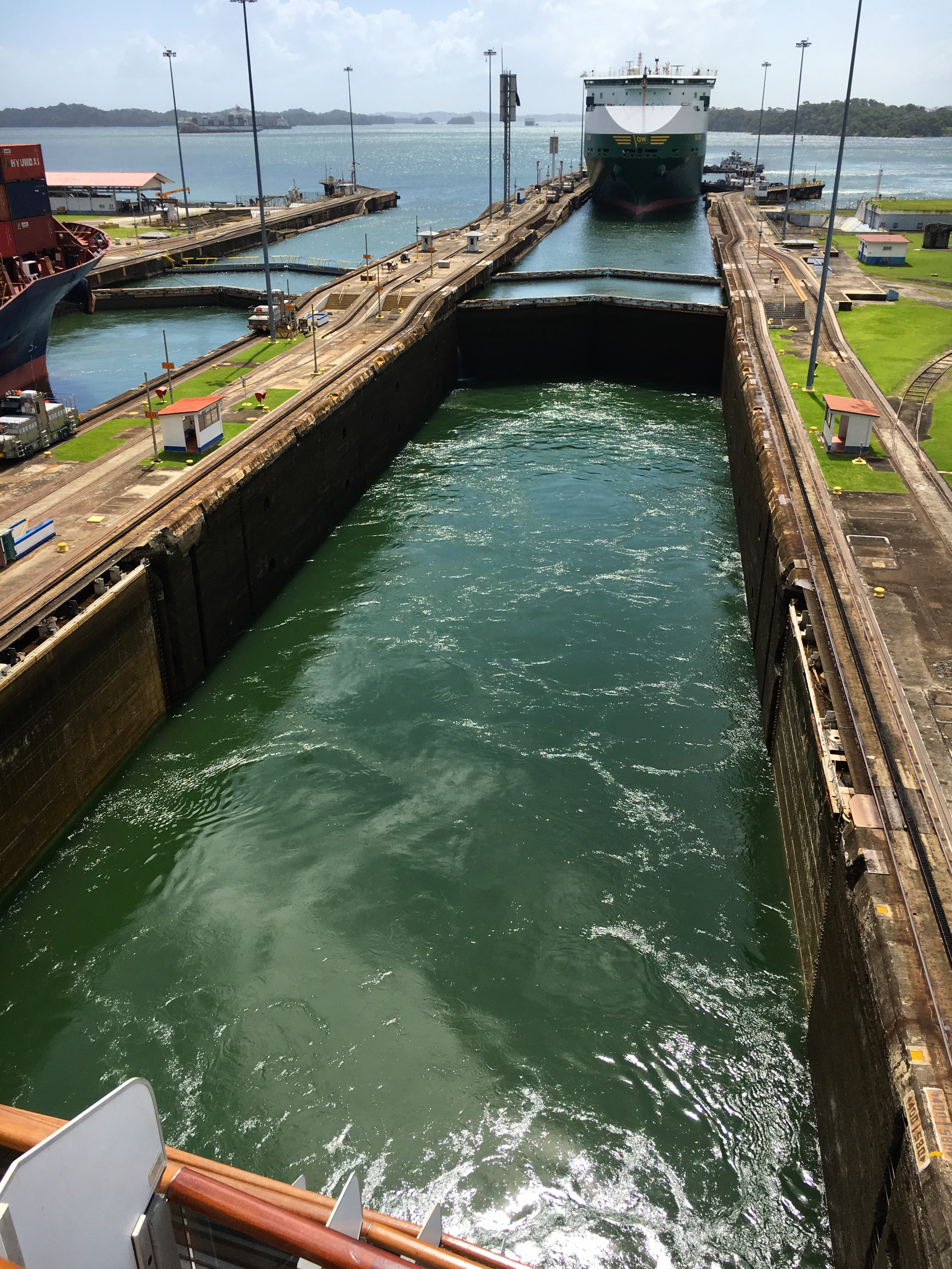 Cruising through the Panama Canal