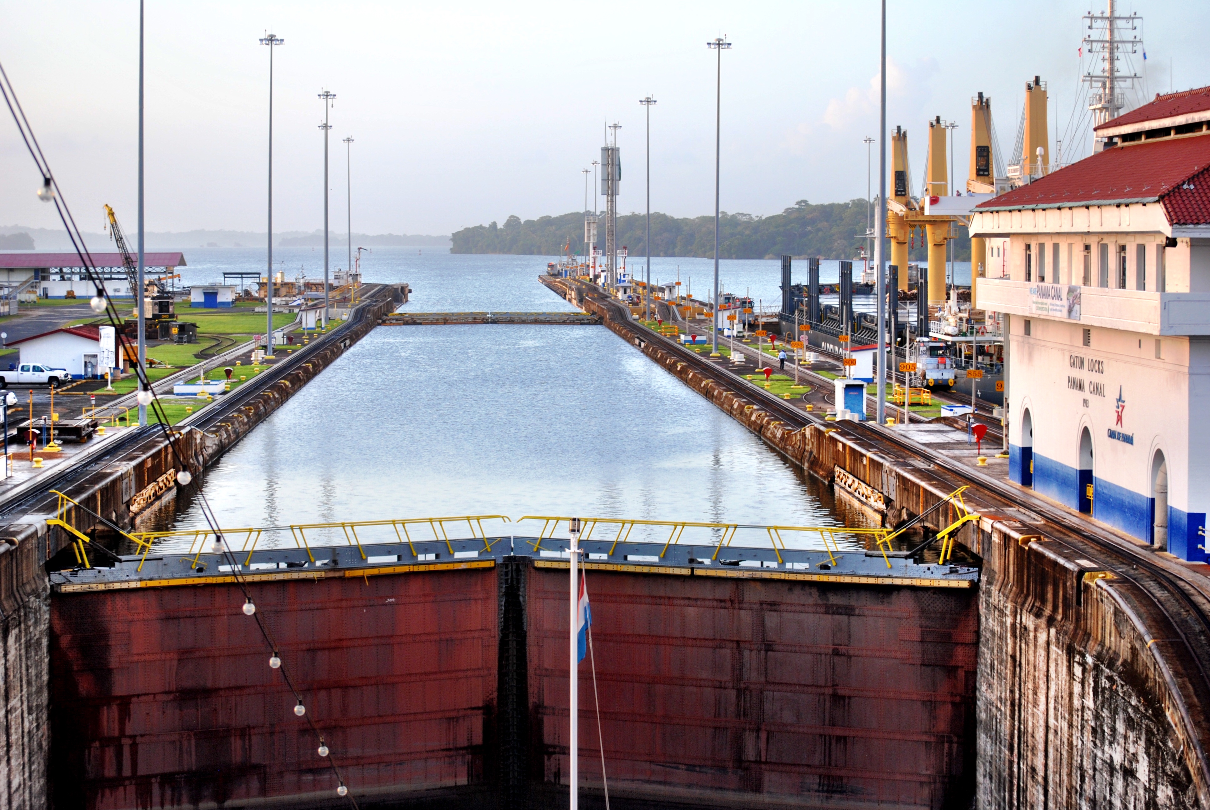 Traveling through the Panama Canal is a bucket list experience