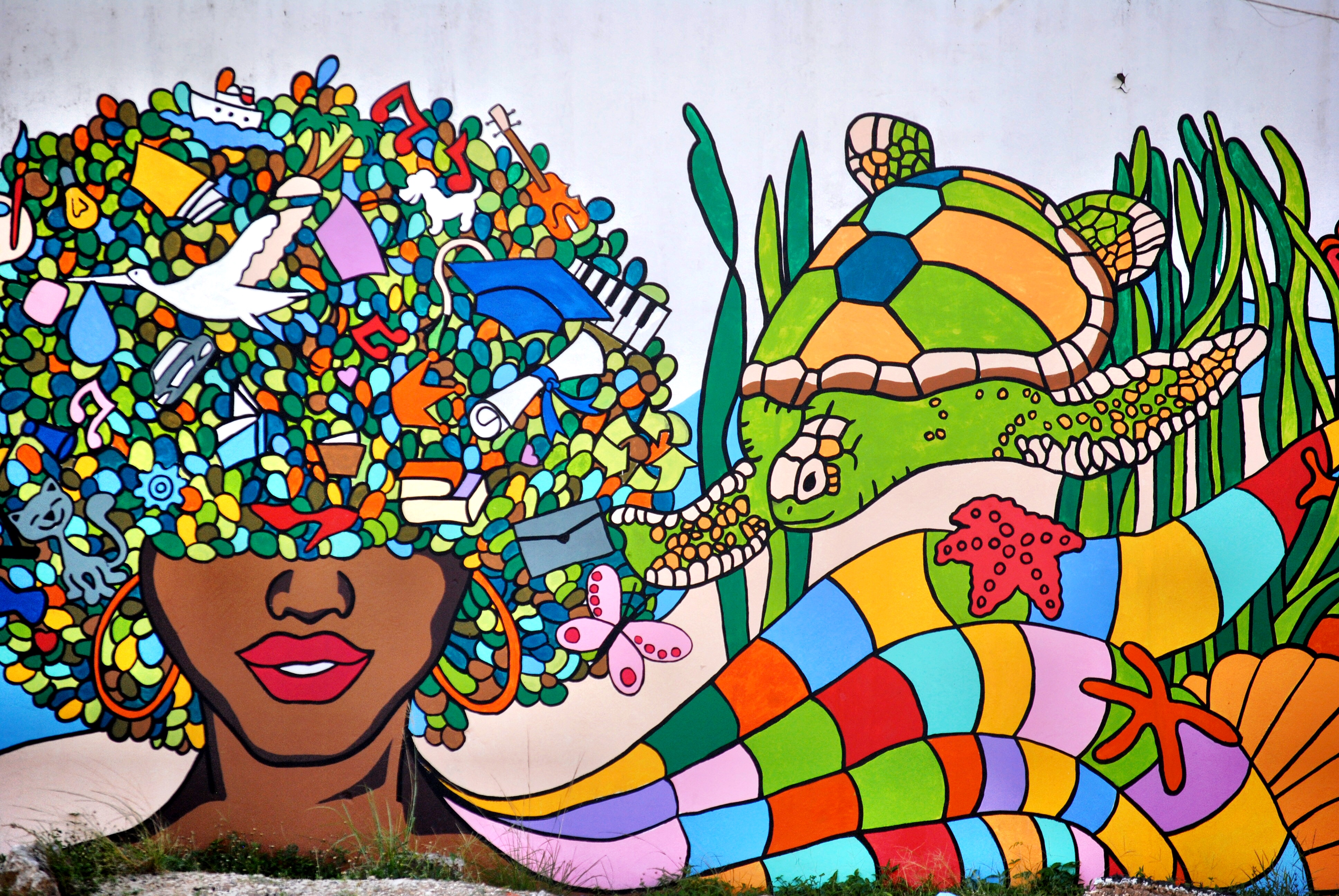 Mural in Colon, Panama