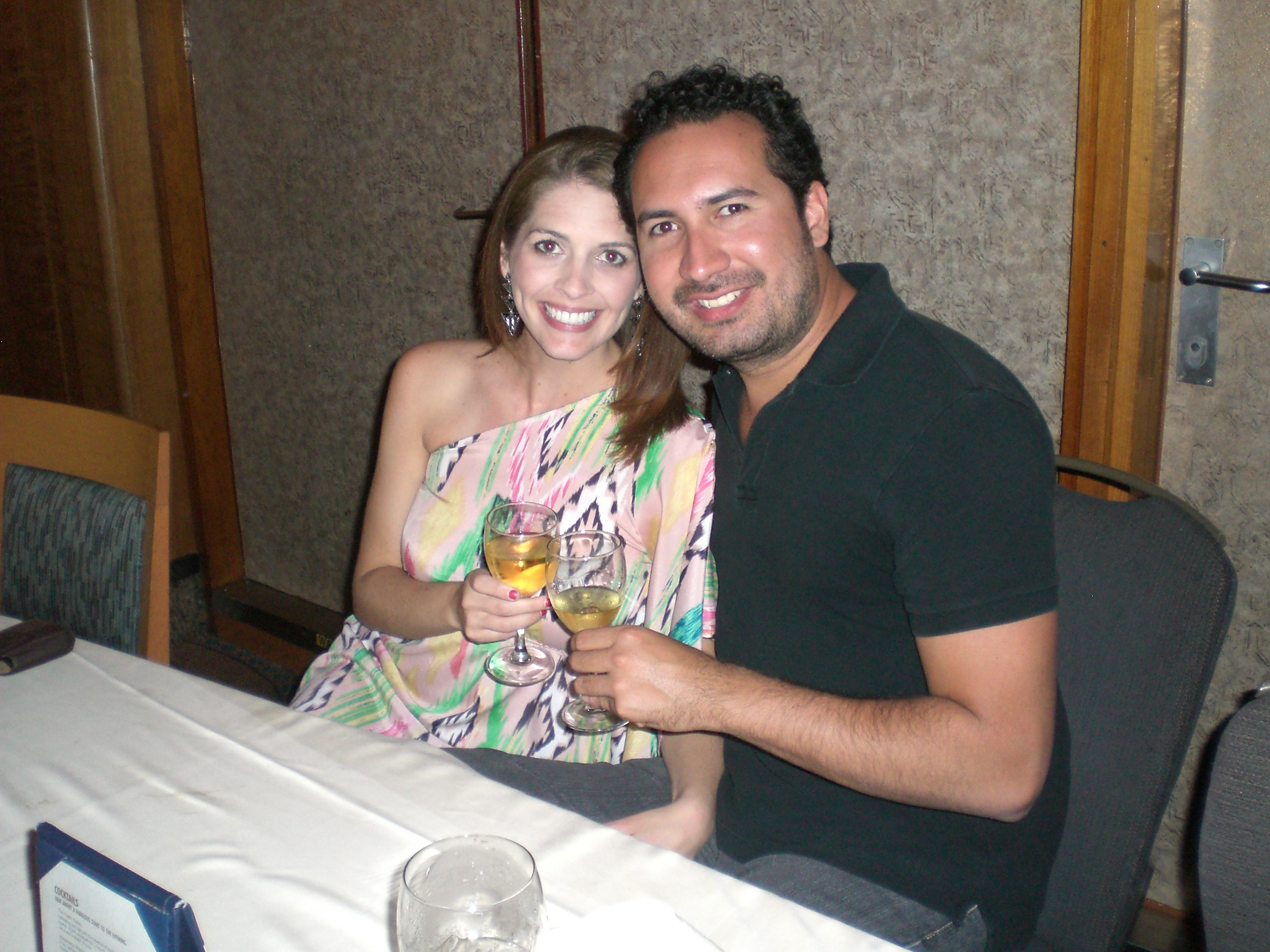 Dinner on a Carnival Cruise