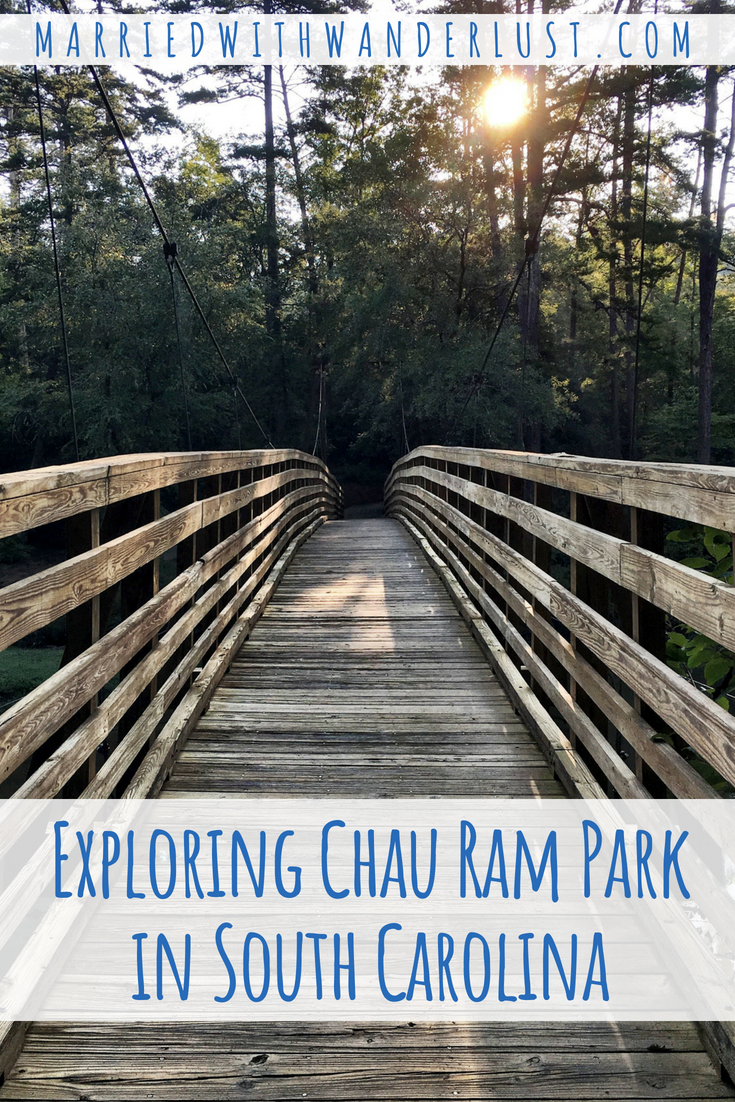 Exploring Chau Ram County Park in South Carolina