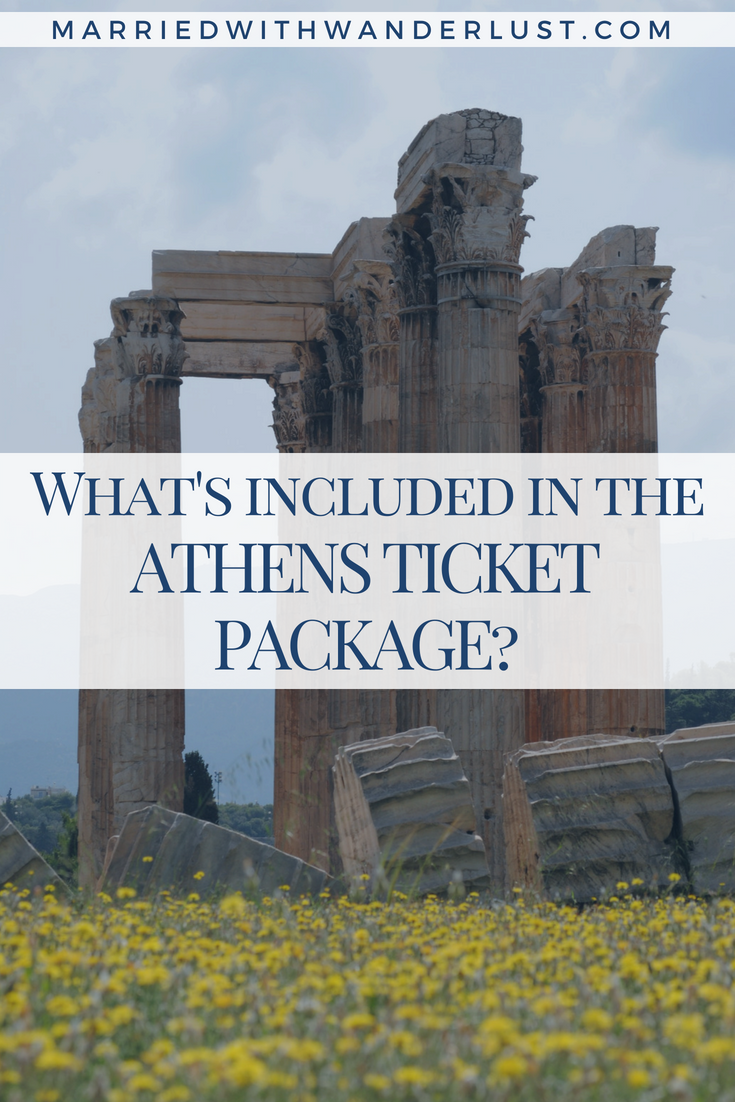 Learn what's included in the Athens multi-site ticket package