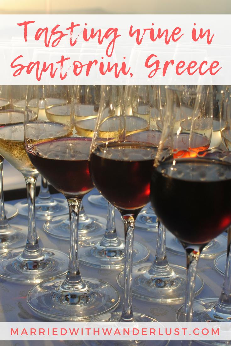 Wine Tasting at Santo Wines in Santorini
