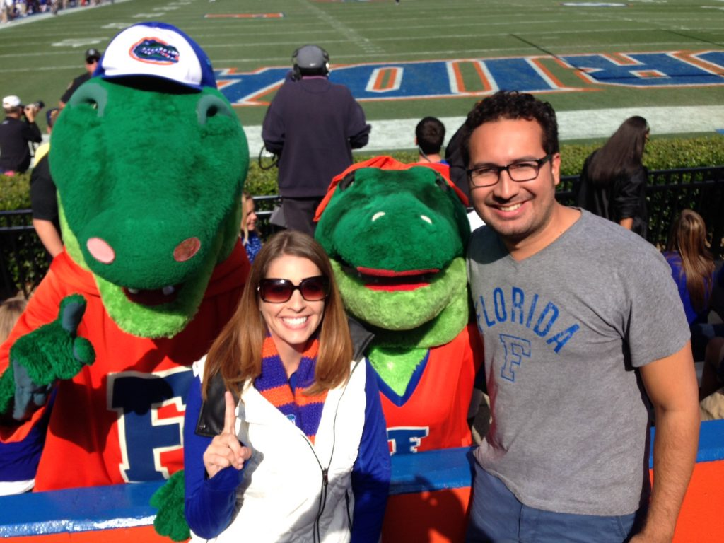 Attend a Gators football game in Gainesville, Florida