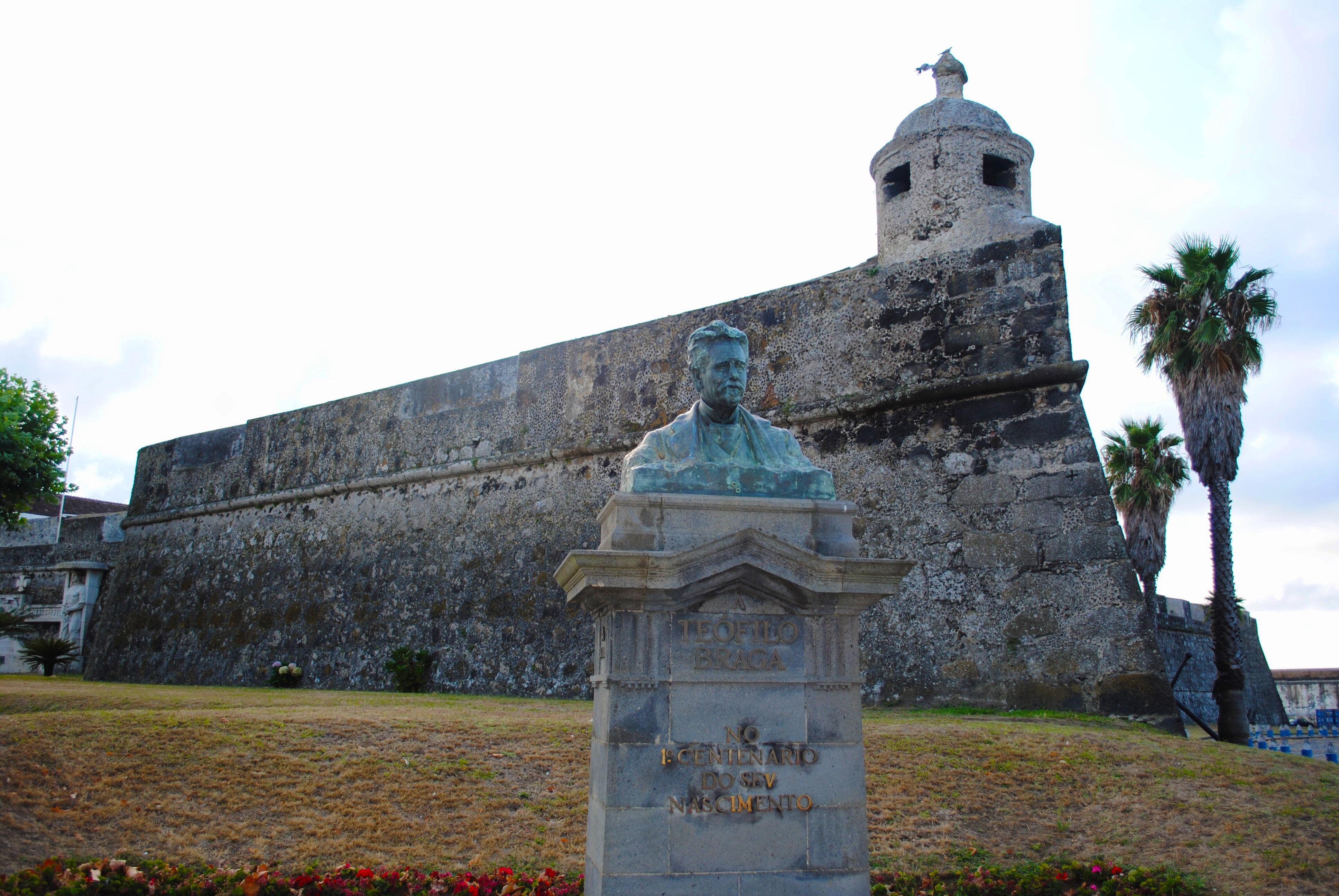 Forte de São Brás in Ponta Delgada, Azores