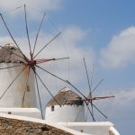 Iconic windmills of Mykonos