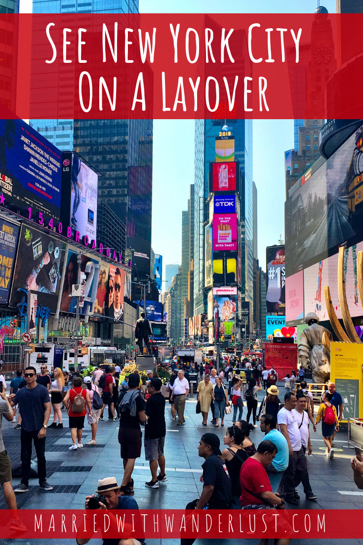 How to see New York City on a layover