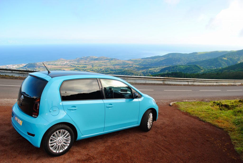 Rent a car in the Azores