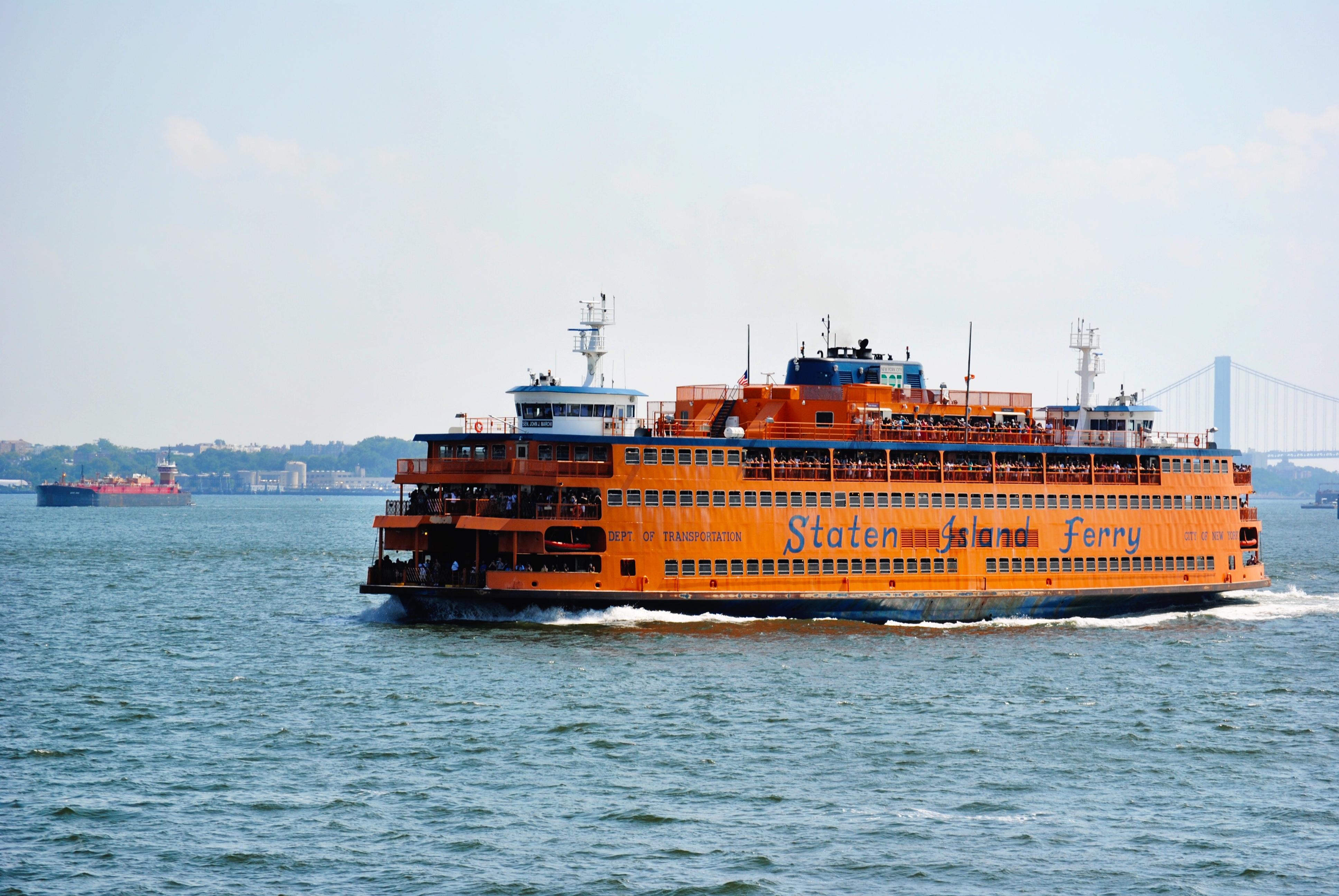 Take the Staten Island Ferry