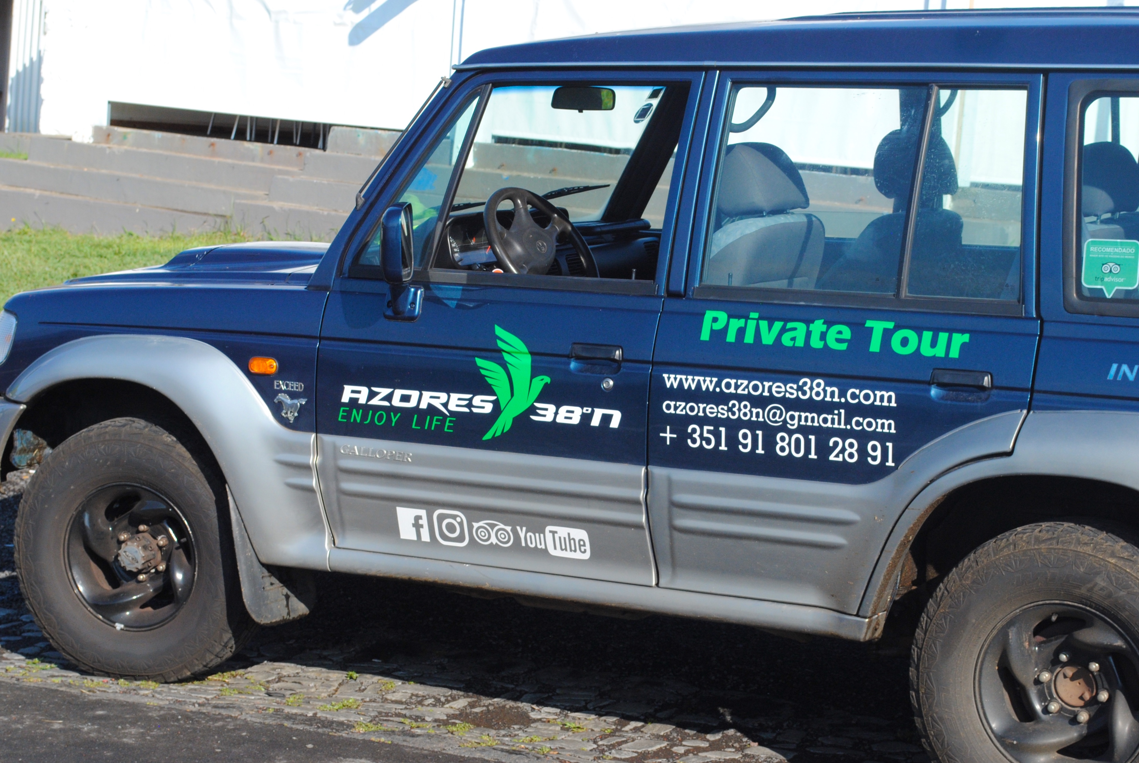 Terceira Island Jeep tour with Azores 38ºN