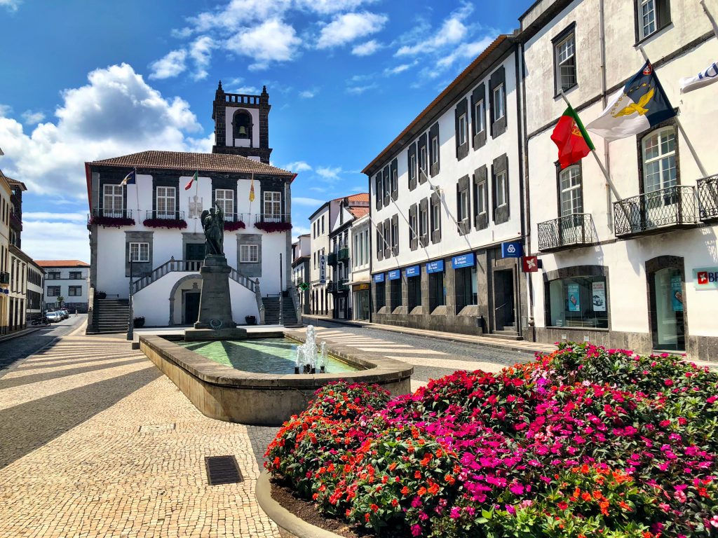 Wander the streets in Ponta Delgada