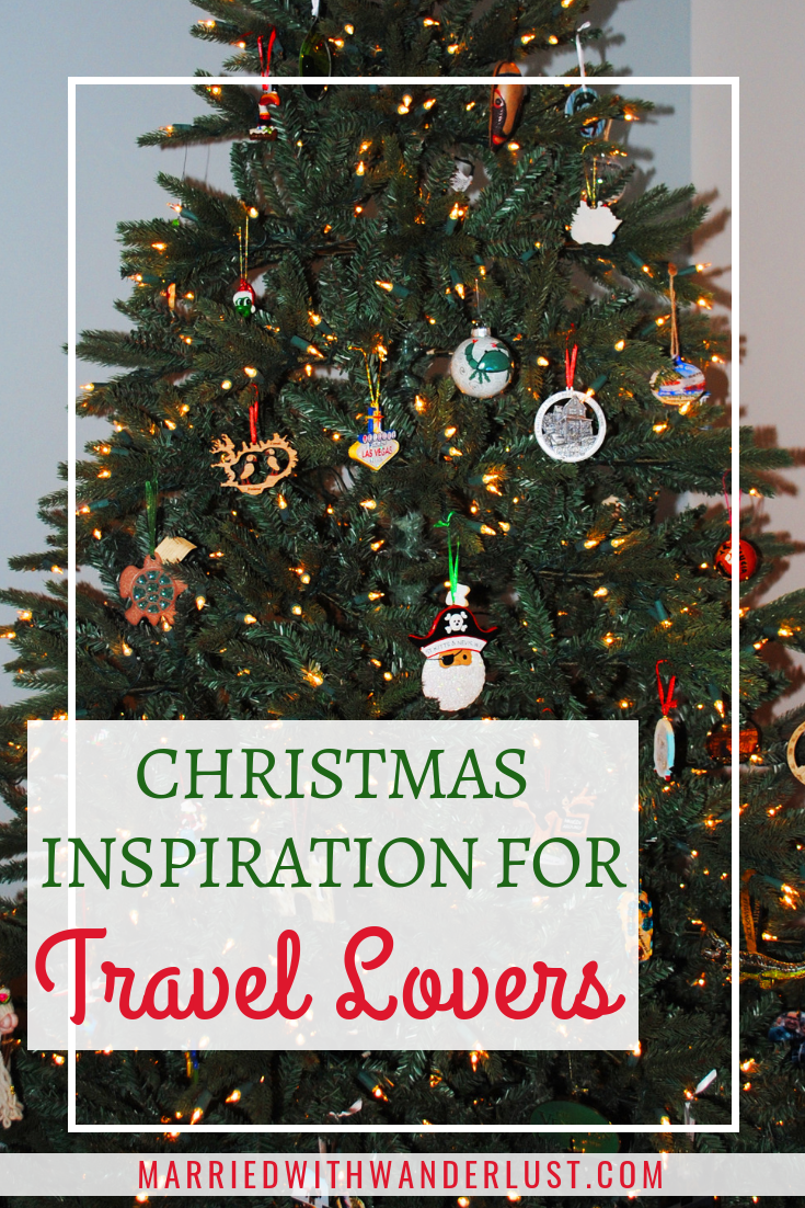 Christmas decor inspiration for travel lovers