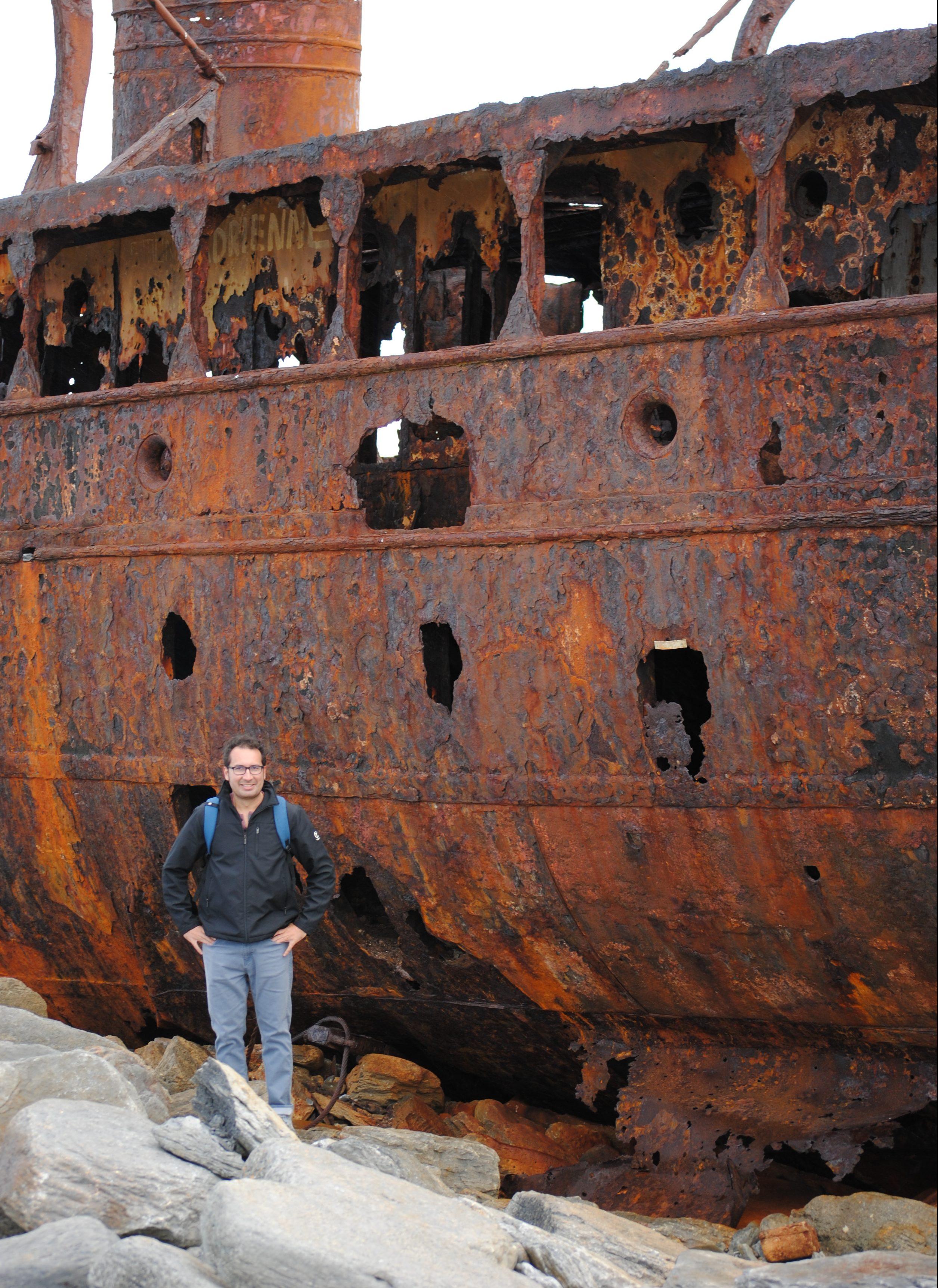 Plassey shipwreck in Ireland