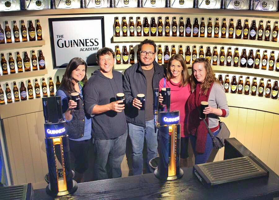 Learn to pour the perfect beer on the Guinness Factory tour