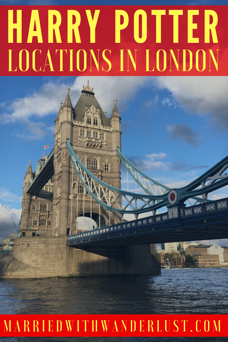 Harry Potter locations in London