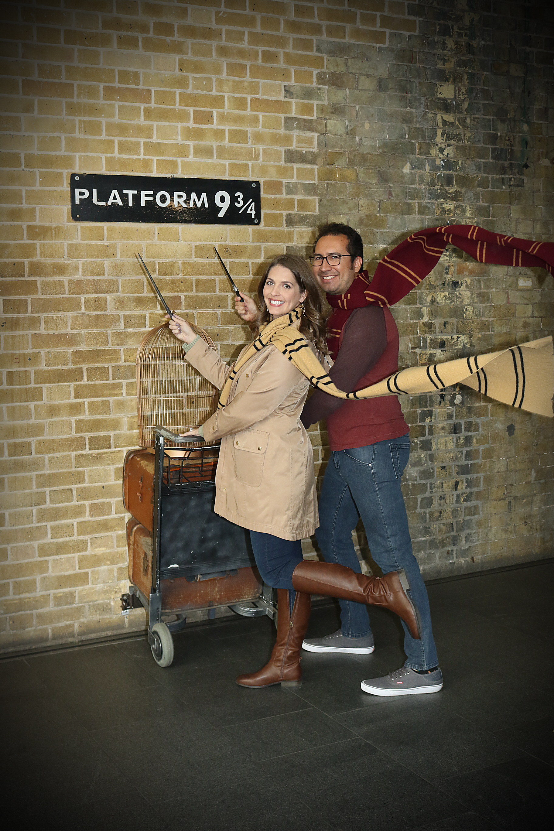 Harry Potter locations in London: Platform 9 3/4