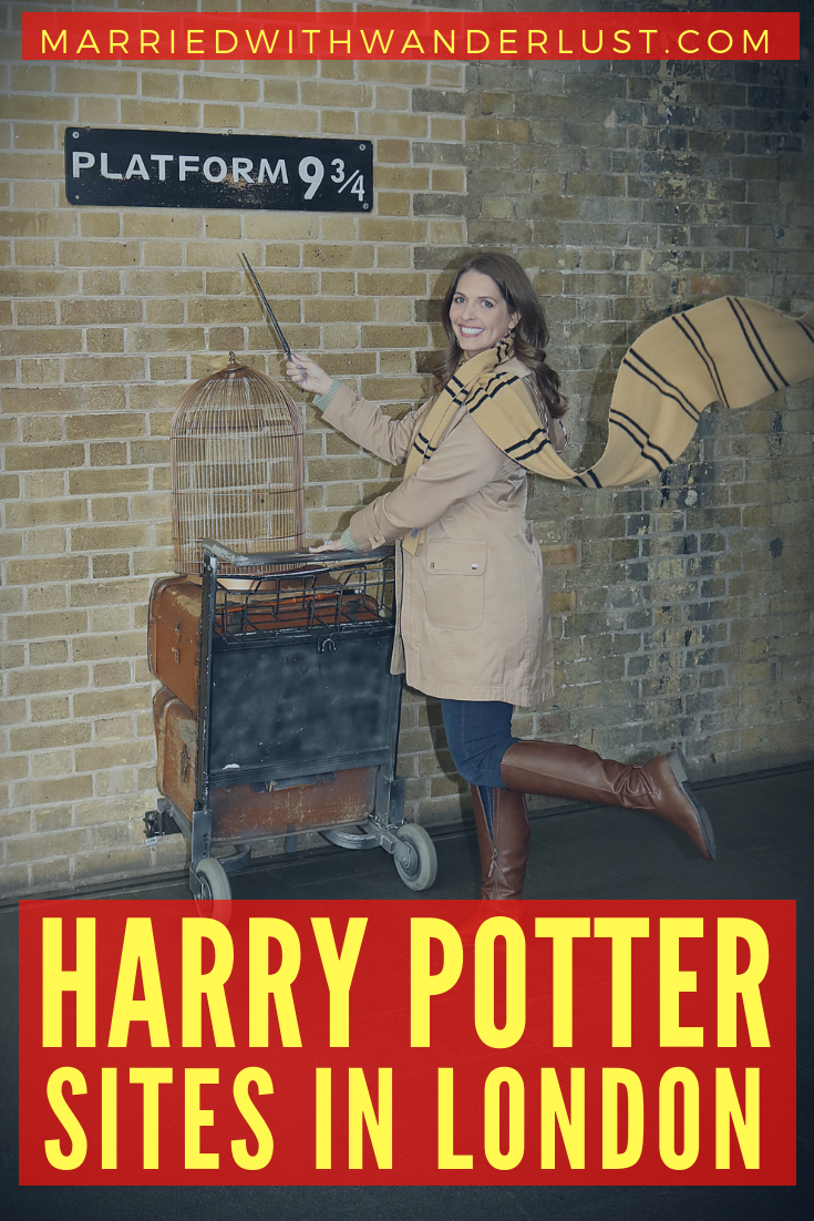 Visit the Harry Potter sites in London