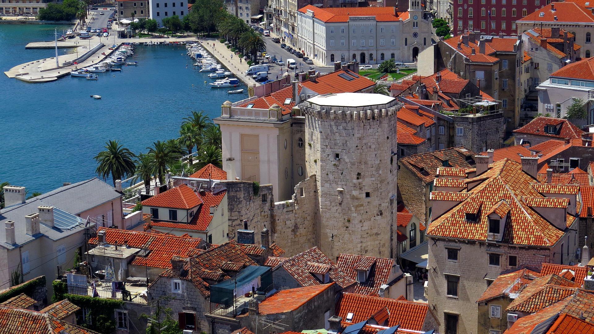 Port at Split, Croatia