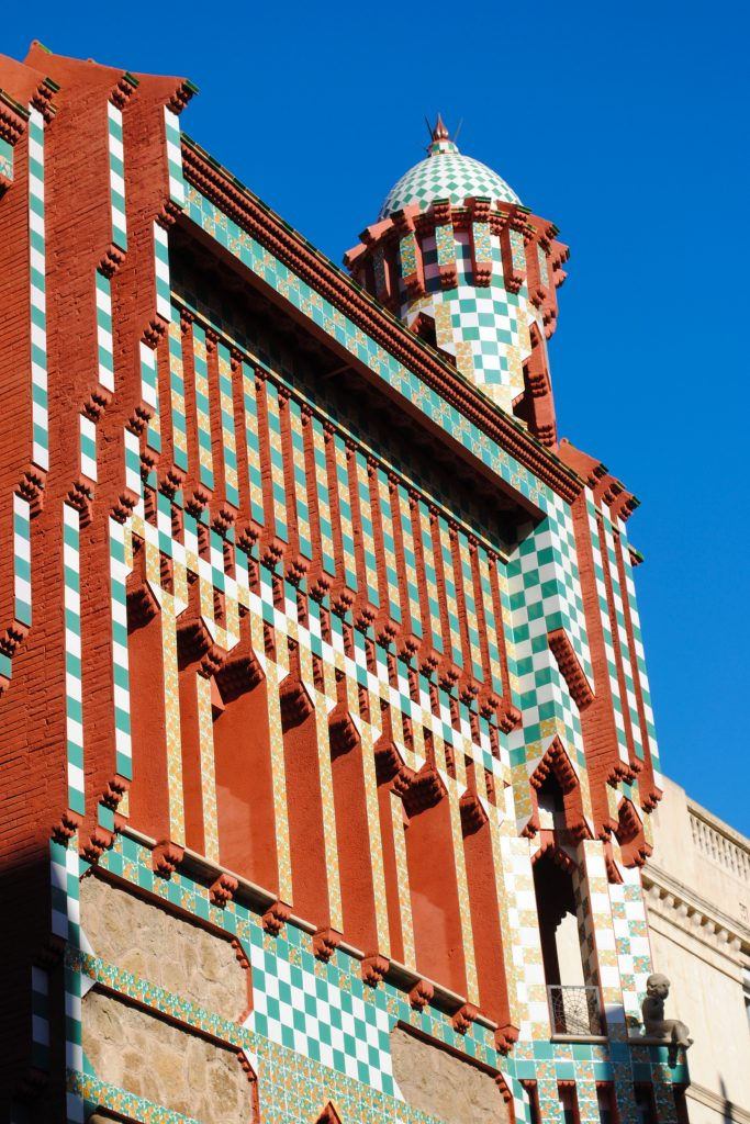 Casa Vicens, the first home designed by Gaudi