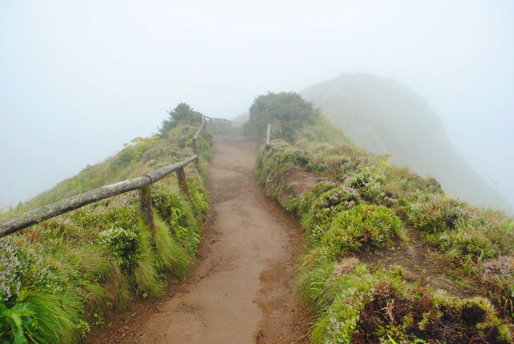 Famous viewpoint in the Azores