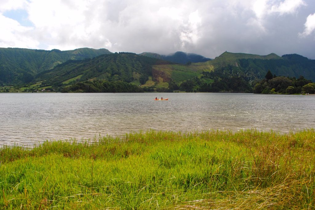 Go kayaking on Lagoa das Sete Cidades