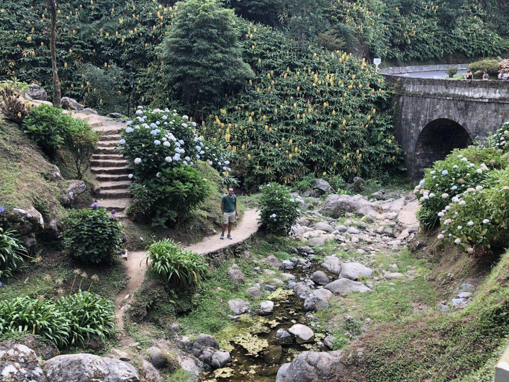 Ribeira dos Caldeirões Park, Azores