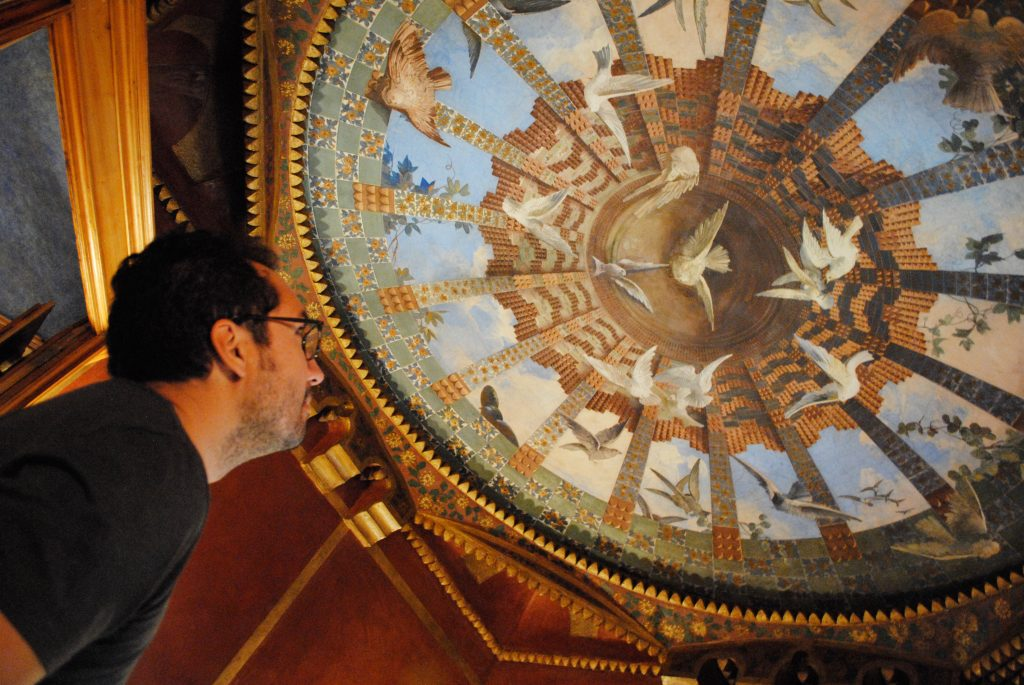 Inside Casa Vicens, a gaudi masterpiece