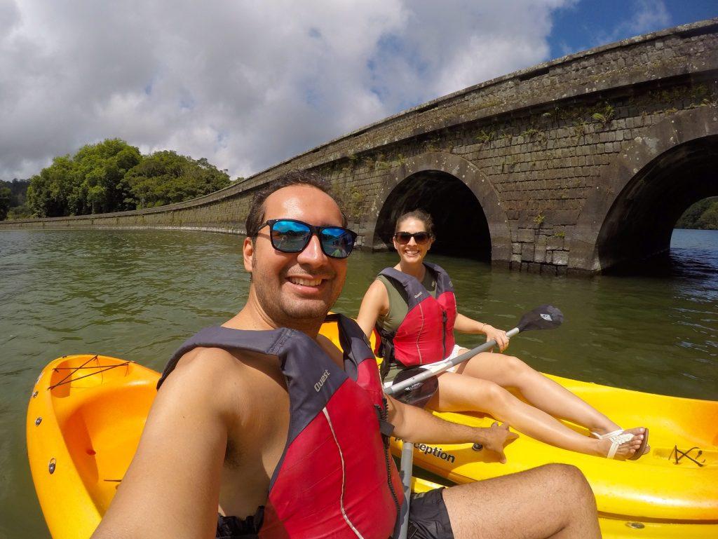 Kayak on Lago das Sete Cidades