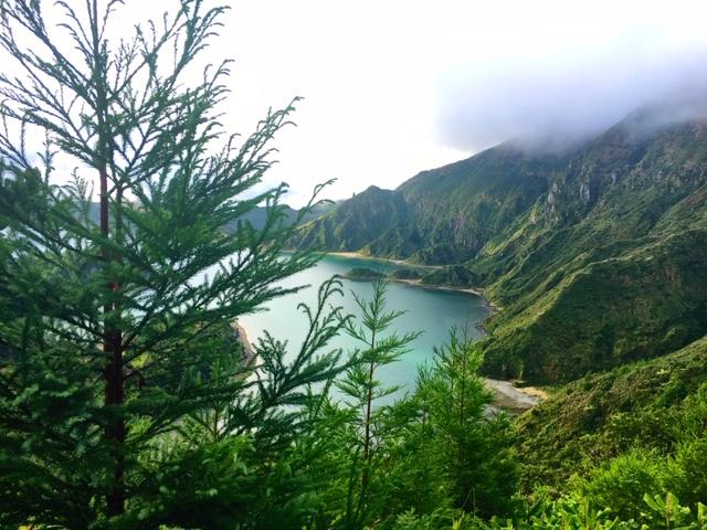 Miradouro da Lagoa do Fogo, Azores