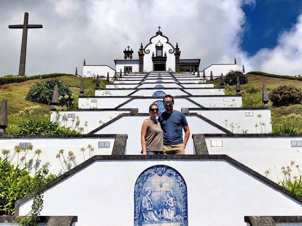 Nossa Senhora da Paz church in Sao Miguel Island, Azores