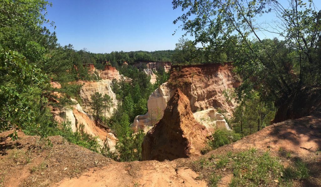 "Providence Canyon State Park is Georgia's ""Little Grand Canyon"""