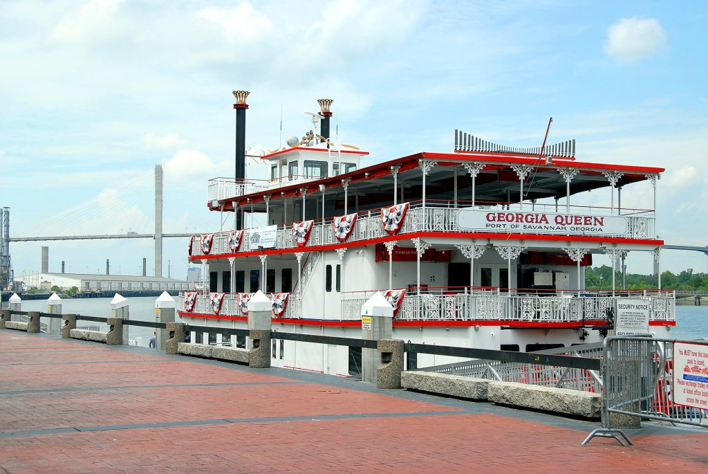Georgia Queen Riverboat in Savannah, GA