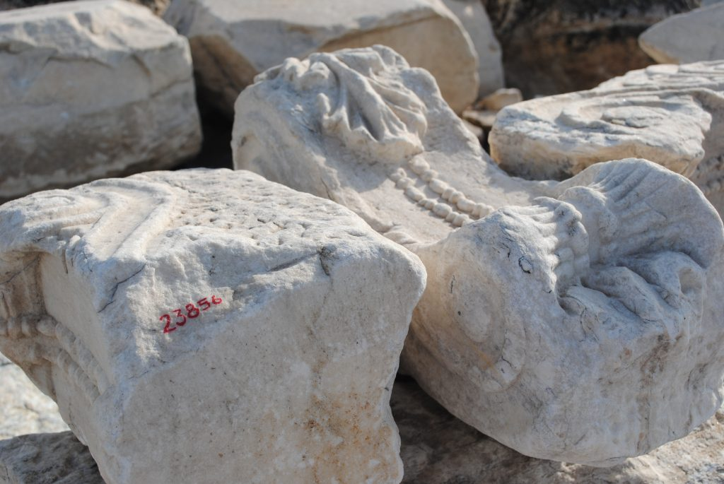 Artifacts at the Acropolis