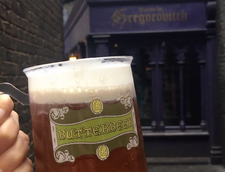 Must-do for Harry Potter fans: Drink Butterbeer at Universal Orlando