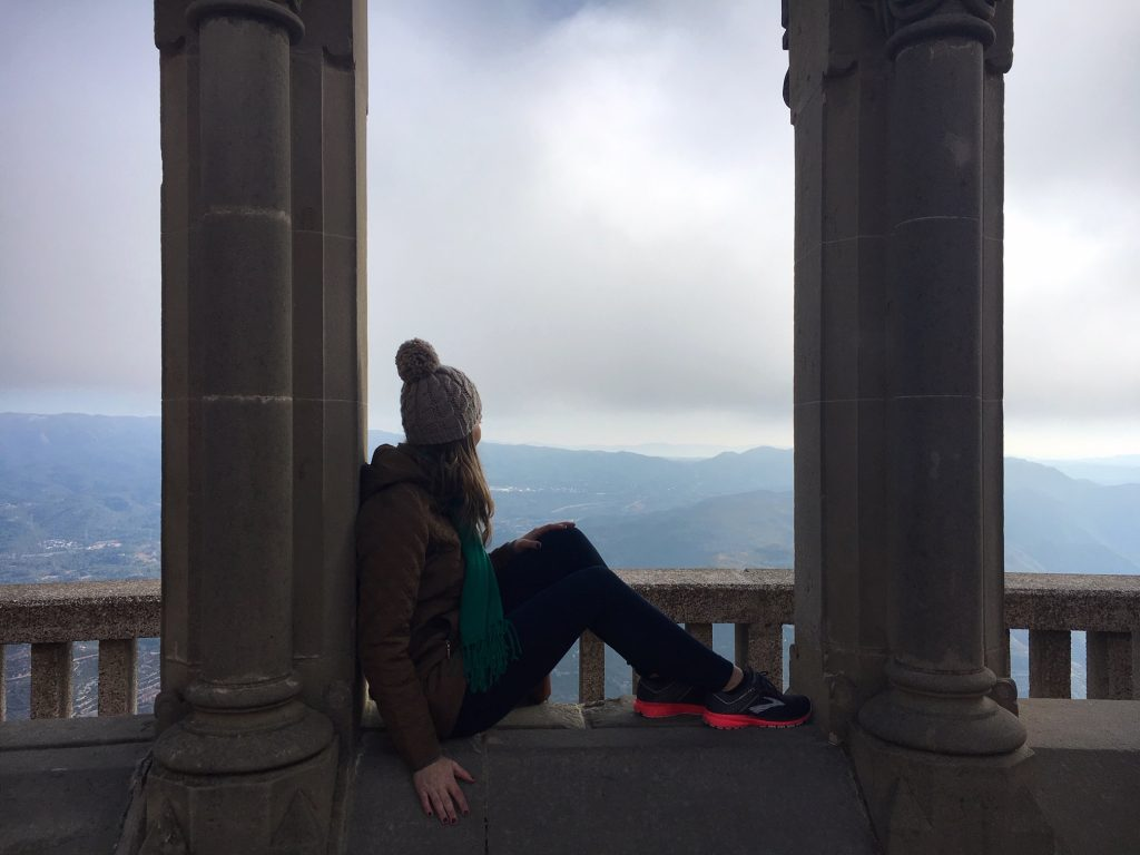 Enjoy the view at Montserrat Monastery