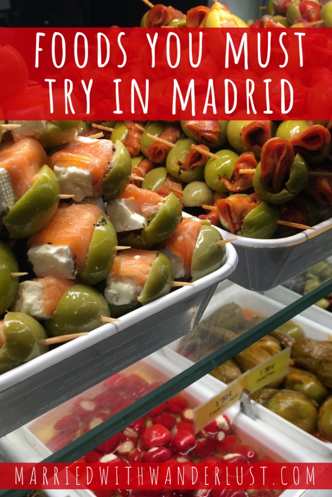 Foods you must try in Madrid, Spain