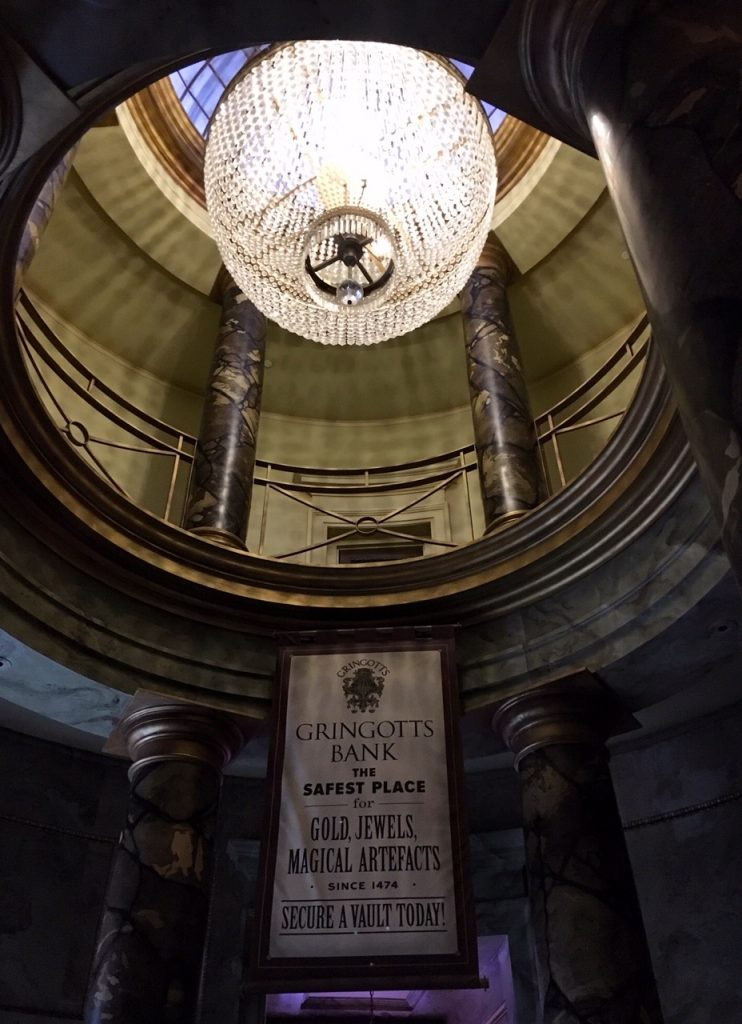 Gringotts Bank at the Wizarding World of Harry Potter