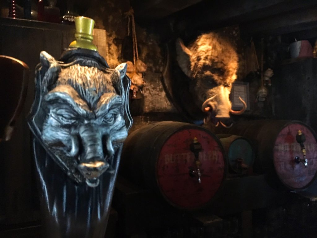 Hog's Head Pub at the Wizarding World of Harry Potter