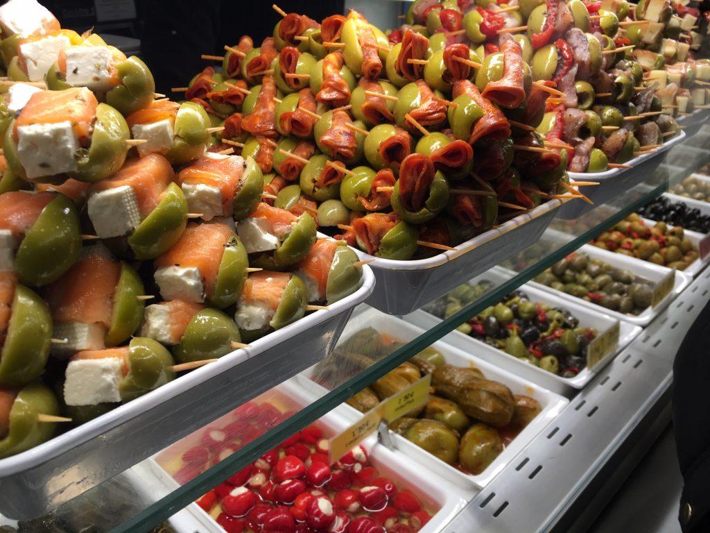 Indulge at Mercado de San Miguel in Madrid