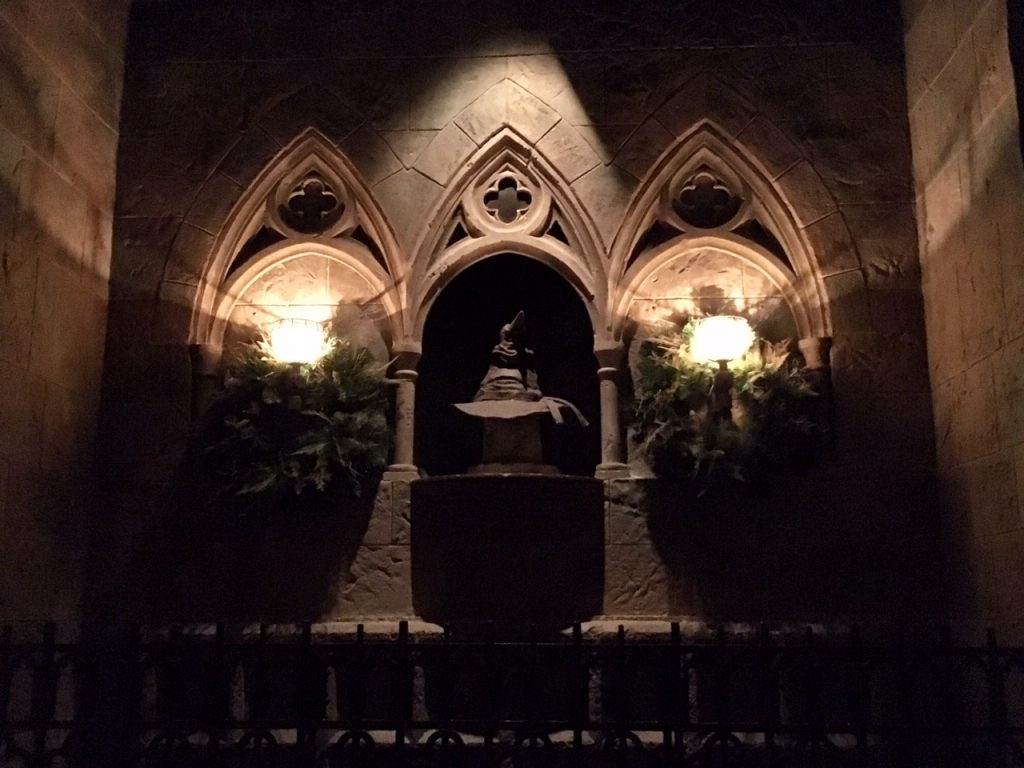 Inside Hogwarts Castle at Universal Orlando
