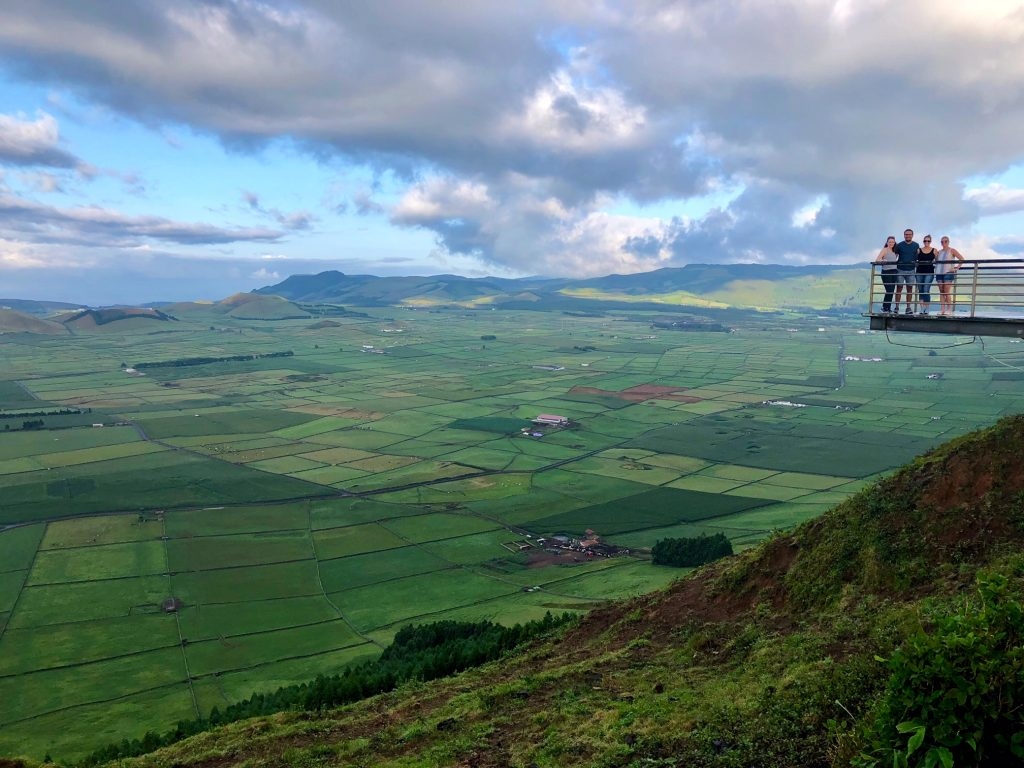 Serra do Cume Viewpoint on Terceira Island, Azores